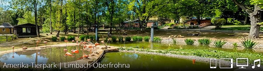 Amerika Tierpark Limbach Oberfrohna Virtuelle Rundgänge