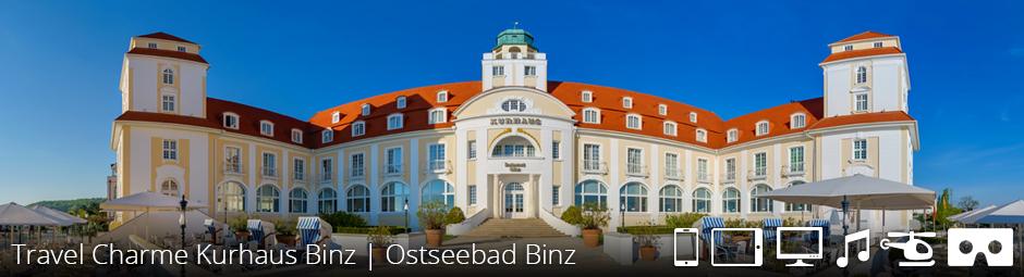 Travel Charme Kurhaus Binz | Ostseebad Binz